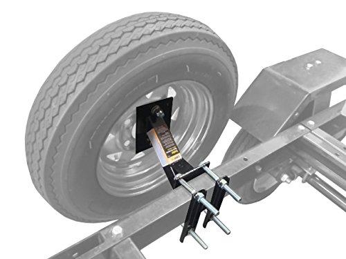 MaxxHaul-70214-Powder-Coat-Black-Trailer-Spare-Tire-Carrier
