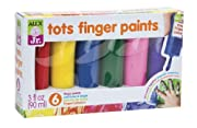 ALEX? Toys - Alex Jr. Tots First Finger Paint (6) Set -  Art Supplies 1807