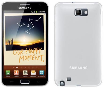 Samsung Galaxy Note N7000 16gb Unlocked Android Smartphone in White