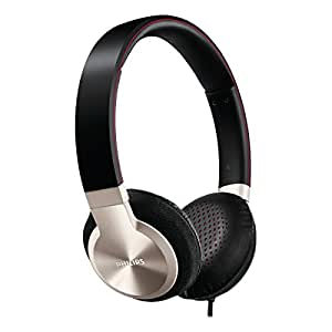 Philips SHL9700/10 Headband Headphones - Black/Aluminium