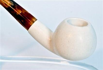 Standard Apple Smooth Bent Meerschaum Pipes