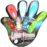 Laser Finger Beams - 48 ct. box Bright LED finger lights