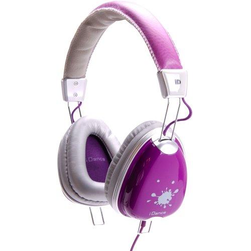 Idance Funky 600-Watt-Channel Recording Studio Equipment , White And Purple