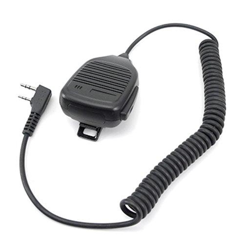 Mikrofon und Lautsprecher Mobilteil mit PTT für 2-Pin-Walkie-Talkie-Radio KENWOOD Funkgerät TK-2107 TK-3107 usw.