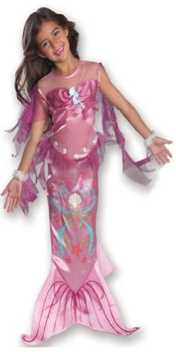 Rubies Pink Mermaid Kids Costume