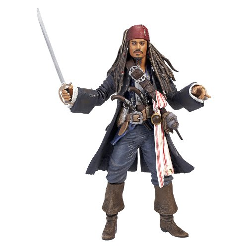 Picture of Disney Pirates of the Caribbean CHLD POTC 4 6 Collector Figure (B004S5740W) (Disney Action Figures)