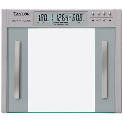 Cheap Taylor 5758FBL Biggest Loser Glass Body Fat Scale (5758FBL)