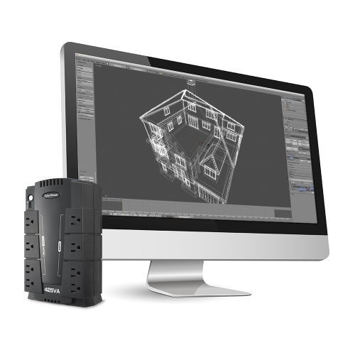 CyberPower CP425SLG Standby UPS 425VA 255W Compact Size: 425VA 164 2pcs portable mini screwdrivers hand tools novelty gadgets