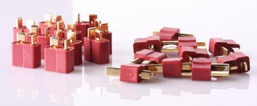 10 Pair T Plug Connectors Deans Taste Male and Feminine Connectors