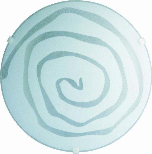 Massive Wand-/Deckenleuchte Modern Spirale 708230167