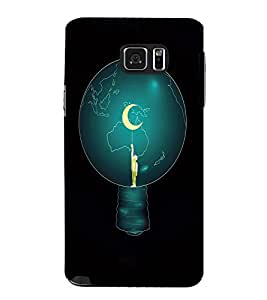 EPICCASE Top of World Mobile Back Case Cover For Samsung Galaxy Note 5 (Designer Case)