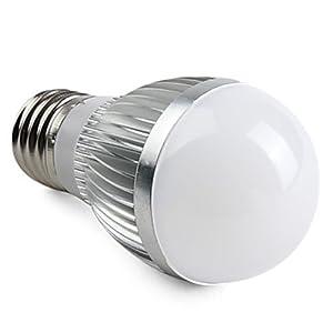Factop-E27 6W 550-650LM 3000-3500K Warm White Light LED Ball Bulb (220V)