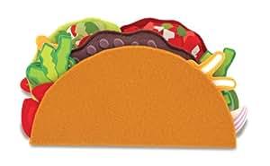 Melissa & Doug Felt Food - Taco And Burrito Set