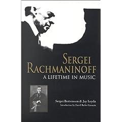 洋書 S.Bertensson, J.Leyda,&S.Satina著 《Sergei Rachmaninoff: A Lifetime in Music》の商品写真