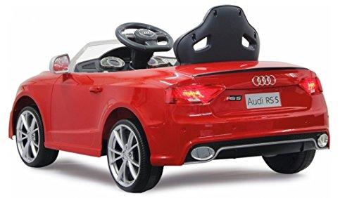 Jamara-405041-Ride-on-Audi-RS5-Elektrofahrzeug-12-V-rot