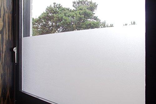 Tamia-Home-Statische-Fensterfolie-90-UV-Sonnenschutz-Selbsthaftende-Sichtschutzfolie-Glasdekor-S001-Milchglas-60x100cm