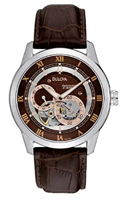 Bulova Men's 96A120 BVA Series Dual Aperture Dial Watch by Bulova