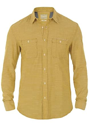 SELECTED HOMME Dean Hemd, Größe:L;Selected-Farben:Yellow