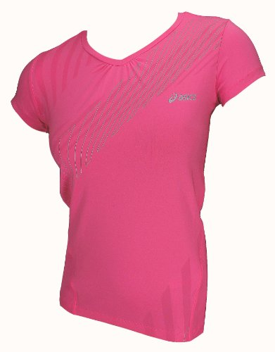 Asics Fitness Running Sportshirt All Over tee Donna 0263 Art. 612222 Taglia S