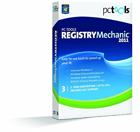 Pc Tools Registry Mechanic 2011 - 1 User/3 Pc [Old Version]
