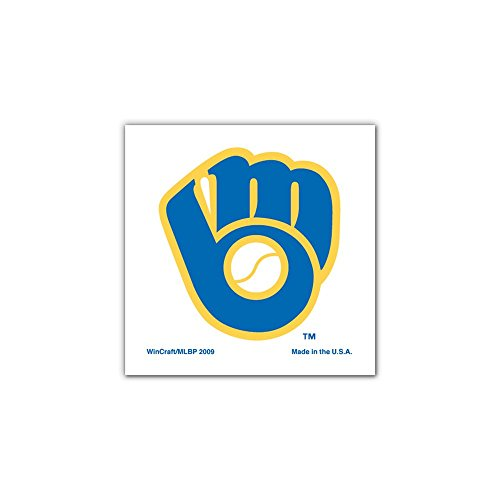 MLB Milwaukee Brewers 70324091 Tattoo (4 Pack) - 1