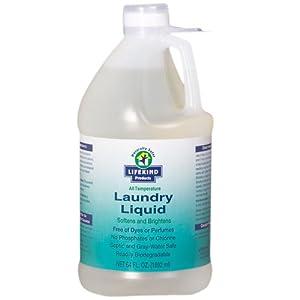 Lifekind Organic All Temperature Natural Laundry Liquid 64 Fl. Oz