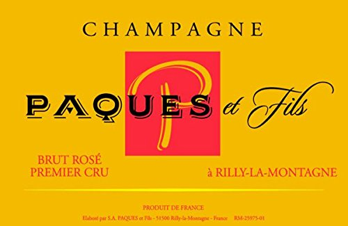 Nv Champagne Paques Et Fils: Champagne Rose 750 Ml