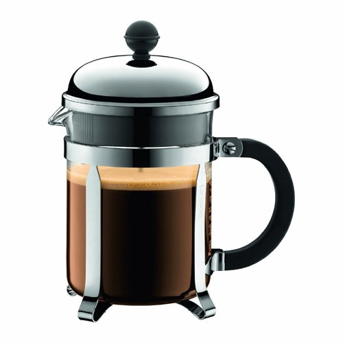 Bodum Chambord 4 Cup French Press Coffee Maker, 17-Ounce, Chrome (24 Oz French Press compare prices)