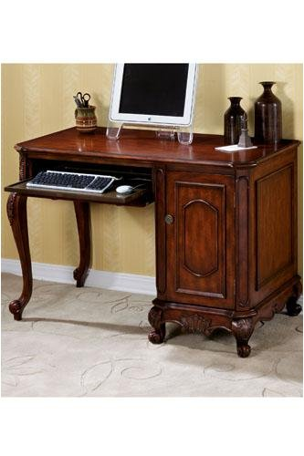 Buy Low Price Comfortable Heirloom Computer Desk With Storage (B000E1HNMI)