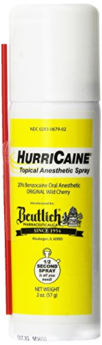 lidocaine spray ndc