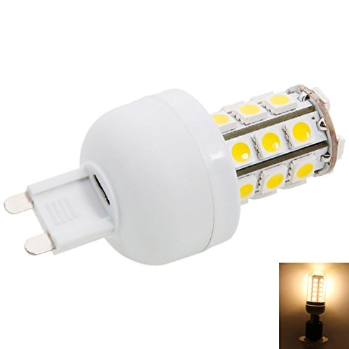 Corn Bulbs - G9 3W 27Led Smd5050 2700-3200K Dimmable Warm White Led Corn Light Bulb (220-240V)