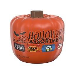 HERSHEY\'S Halloween Assortment Pumpkin Bowl (50.2-Ounce)