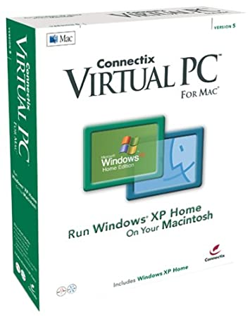 Virtual PC 5.0 for Mac with Windows XP Home
