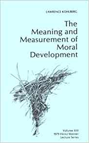 kohlberg essays on moral development volume 1 Introduction: moral development study in the 21st century carolyn p edwards university of nebraska in this volume) kohlberg was always deeply committed to.