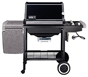 Amazon.com : Weber 2351001 Black Genesis Silver B Natural ...