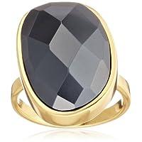 [ゴリアナ] Gorjana Clara Ring Hematite1311-3037-18-G