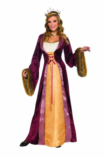 Rubie's Costume Deluxe Milady Of The Castle Renaissance Dress, Multicolor, Small