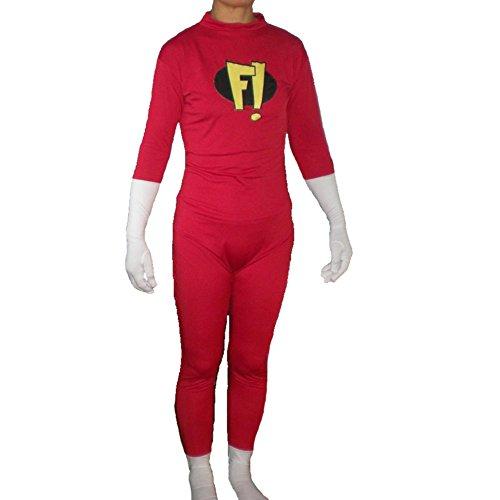 [Freakazoid Adult Costume-Adult 2XL] (Freakazoid Costume)