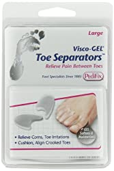 PediFix Unisex Visco-Gel Toe Separators 2 Pack