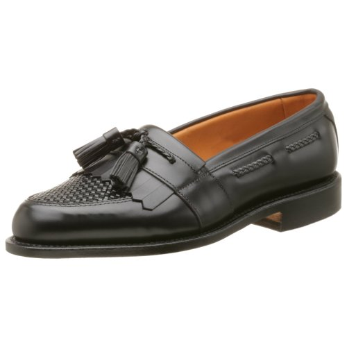 Allen Edmonds Men's Cody Tassel Loafer,Black/Black,9.5 EEE