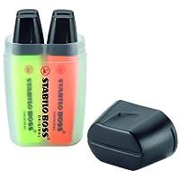 STABILO 蛍光マーカー BOSS ORIGINAL ボスボックス4色セット 7004-3