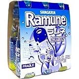Ramune Original Sangaria Japanese Soda - (6) Six Pack (Color: Original Version)