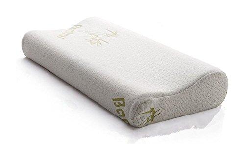 竹繊維低反発メモリー枕 頸椎保健枕  (25*40cm)