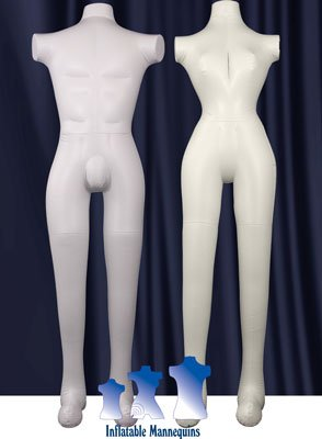 His & Her Special - Full-Size Mannequin, Ivory