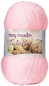 Mary Maxim Twinkle Yarn, Pink