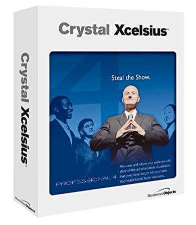 Crystal Xcelsius v.4 Professional License 1 User(s) Standard License PC English