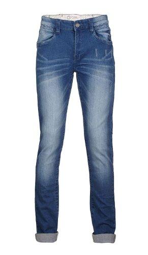 s.Oliver Jungen Jeans 61.401.71.7548, Einfarbig, Gr. 176 (Herstellergröße: 176/REG), Blau (blue denim stretch)