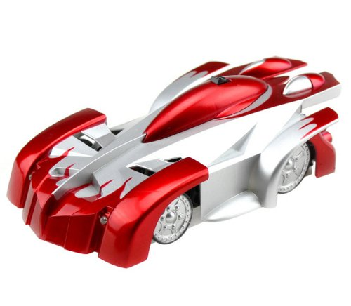 Hot Deal Shapotkina Wall Climber Stunt Infrared RC Car Toys for Boy 4-Channel Red  Best Offer