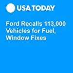 Ford Recalls 113,000 Vehicles for Fuel, Window Fixes | Nathan Bomey