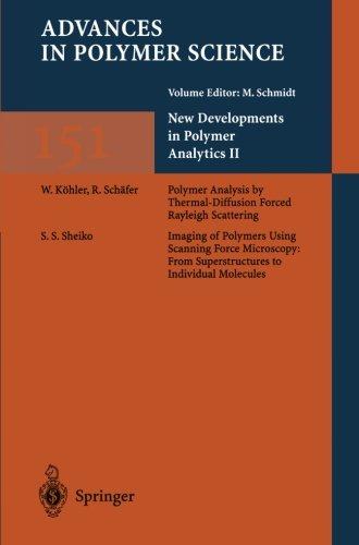 New Developments In Polymer Analytics Ii (Advances In Polymer Science)